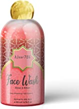 Noor 786 Halal Friendly Rose & Silver Face Wash For Deep Cleansing | Oil Control For Men & Women, 200 ml