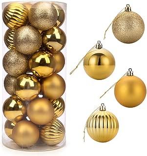 ARCCI 24ct Christmas Ball Ornaments, 2.36