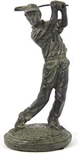 Bellaa 22814 Golfer Statues Trophy Awards Gifts Sculptures Figurines 6 inch