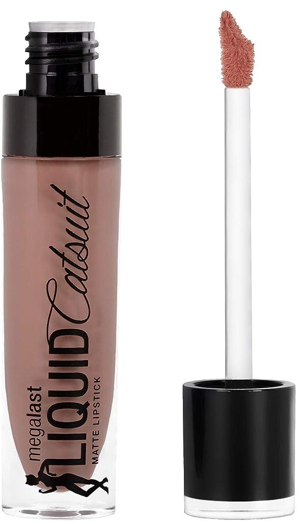 用量宝石ぞっとするようなWET N WILD MegaLast Liquid Catsuit Matte Lipstick - Nudie Patootie (並行輸入品)