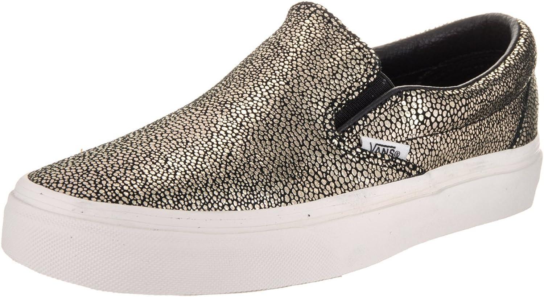 Vans Womens gold Dots Slip-On Sneaker