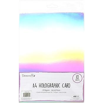 Multi Colore Dovecraft Essentials A4 SPECCHIO Card-Rose Gold 1