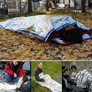 サバイバルシート 防寒 保温シート 防水 遮熱 アウトドア サバイバル ツール グッズ 緊急時 寝袋 コンパクト 軽量2枚パック