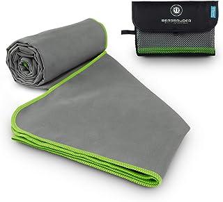 28,7 x 51 kompaktes saugf/ähiges schnell trocknendes Handtuch zum Schwimmen Camping superweiches Wandern RGFDF Mikrofaser-Strandtuch farbiges Brillenmuster