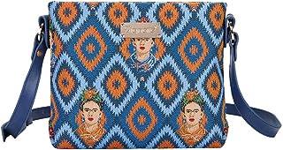 Signare Tapestry Crossbody Purse Small Shoulder Bag for Women with Frida Kahlo Design
