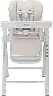Inglesina Gusto HighChair - Fast and Easy Adjustable Baby High Chair for the Modern Family - Removable Tray Included {Cream}