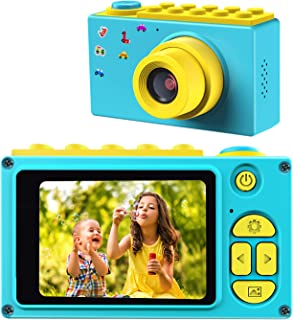 BlueFire Kids Digital Camera Mini 2 Inch Screen Children's Camera 8MP HD Digital Camera with Silicone Soft Cover & 256M SD...