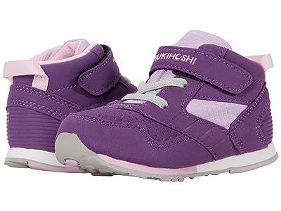 Tsukihoshi Kids Racer-Mid (Toddler/Little Kid) (Purple/Pink) Girl