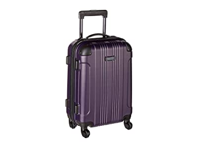 Kenneth Cole Reaction 20 Out of Bounds Lightweight Hardside 4-Wheel Spinner Carry-On Travel Luggage (Deep Purple) Luggage
