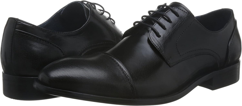 STACY ADAMS Men's, Jemison Cap Toe Lace up Oxford Black 10 M
