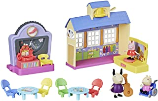 Peppa Pig Peppa's Adventures Peppa's School Playgroup Preschool Toy, with Speech and Sounds, for Ages 3 and Up