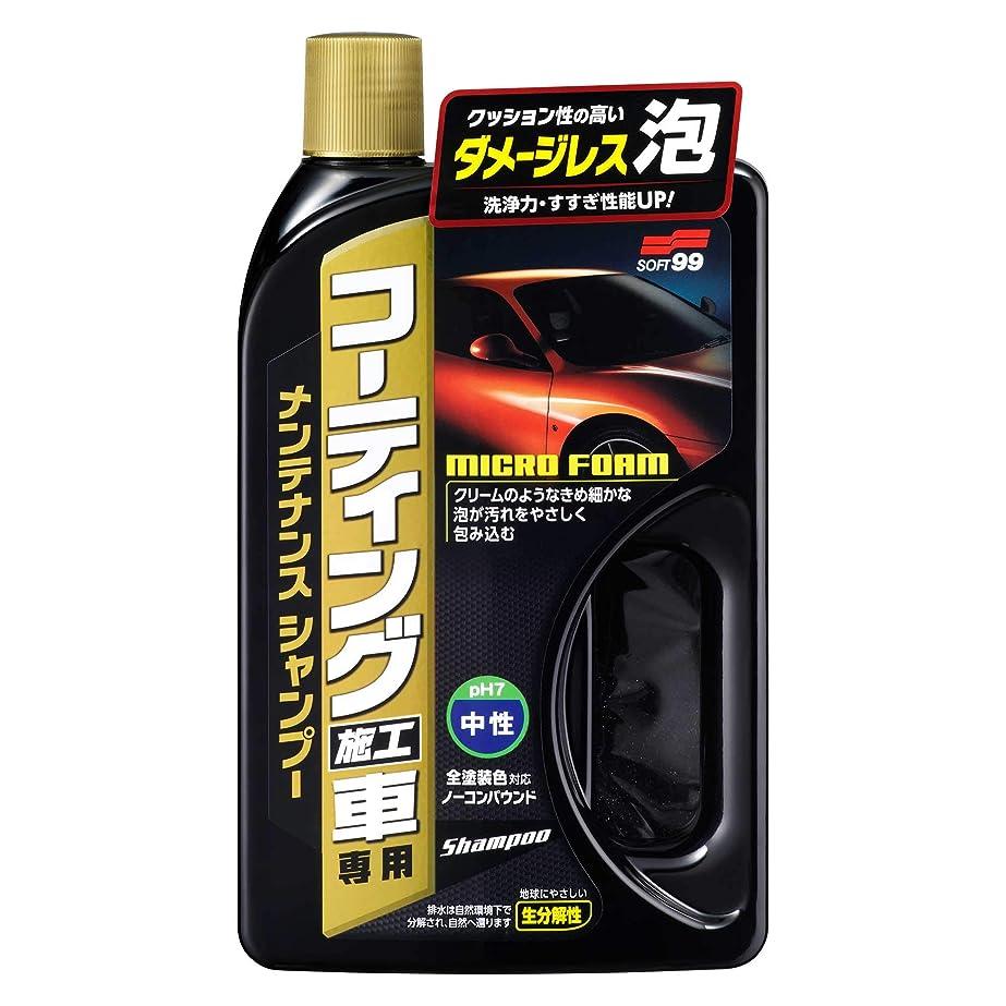 警告するセクションイディオムSOFT99 ( ソフト99 ) 洗車 シャンプー コーティング施工車専用 メンテナンスシャンプー 750ml 04265