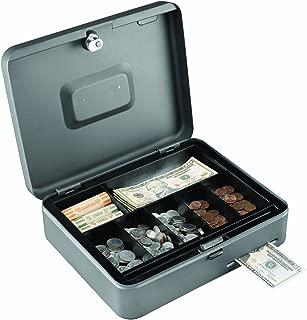 STEELMASTER Cash Slot Security Box, 11.81