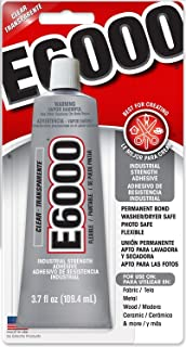 Eclectic Products 230012 3.7 oz Amazing E-6000 Craft Adhesive Uncarded, Clear 12 Pack
