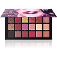 UCANBE Professional 18 Pigmented Eyeshadow Palette, 10 Matte + 7 Shimmer + 1 Metallic Glitter,...
