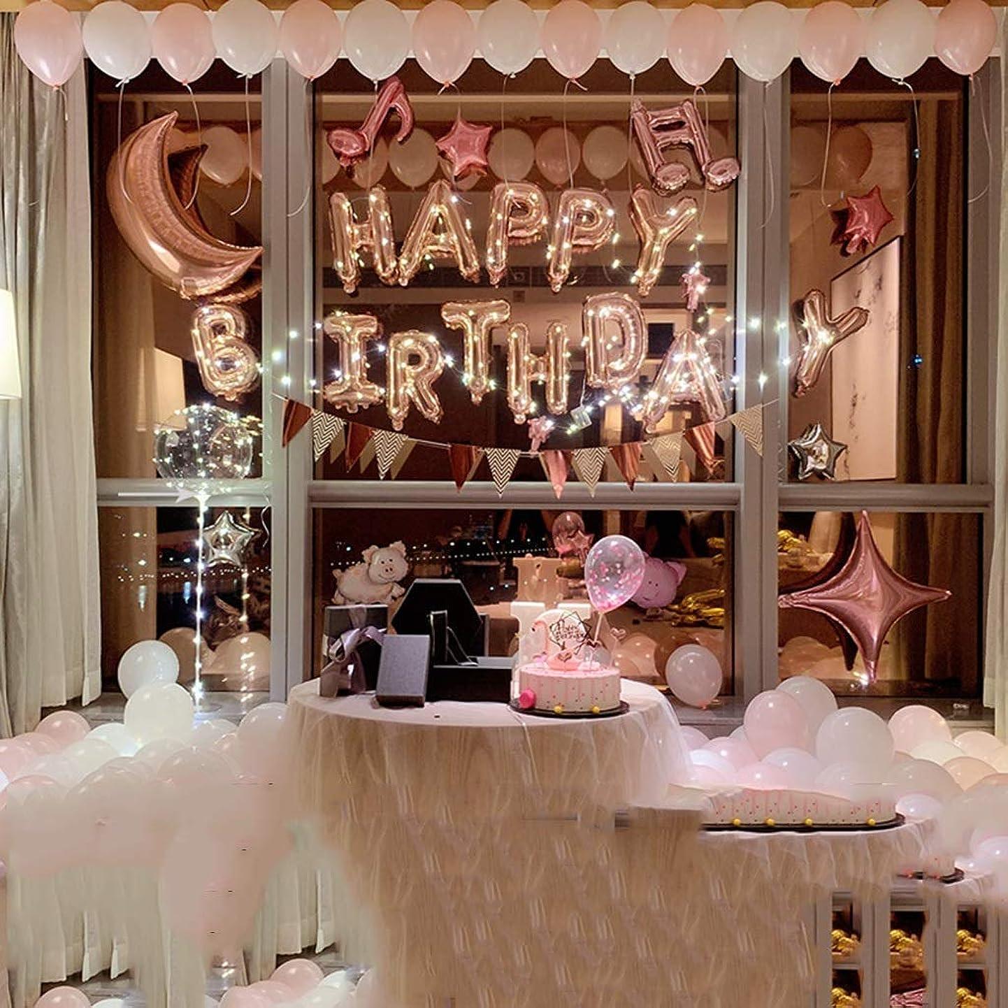 交通ベルベット少年LAOHAO 誕生日パーティーアレンジメントレターアルミフィルムバルーン求愛ロマンチックなバルーンデコレーション ワンタイムデコレーション