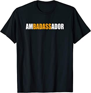 Ambadassador Subtle T-Shirt for Ambassador