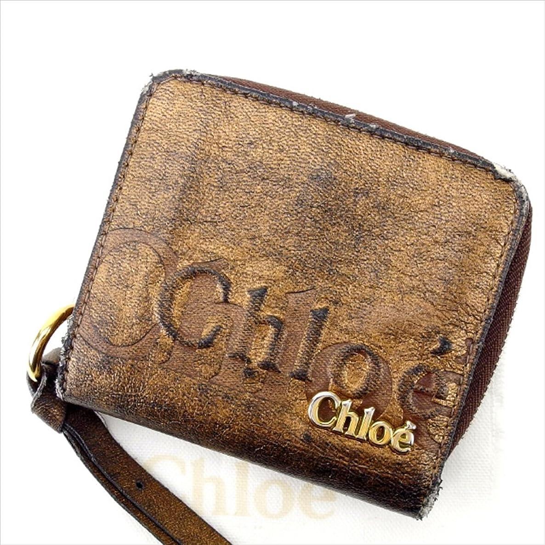 振る舞い被害者邪悪なクロエ Chloe 二つ折り財布 ユニセックス 中古 F724