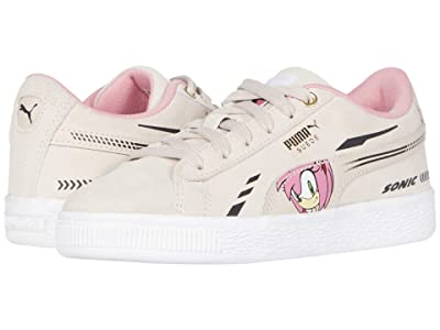 Puma Kids Sega Suede Sonic (Little Kid) (Rosewater) Girls Shoes