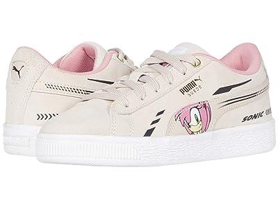 Puma Kids Sega Suede Sonic (Little Kid) (Rosewater) Girls Shoes