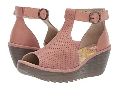 FLY LONDON YALL962FLY (Rose Cupido/Mousse) Women