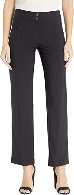 Premium Performance Stretch Full-Length Wide Leg Pants