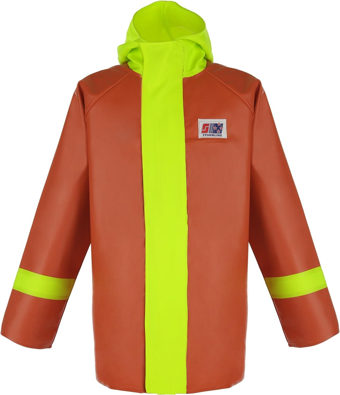 Stormline Nelson 248 Men's Orange for Rain Jacket Commercia Latest item Gear New mail order
