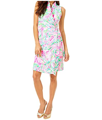 Lilly Pulitzer Romee Wrap Dress (Multi Croc My World) Women