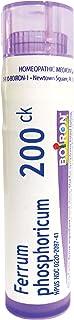 Sponsored Ad - Boiron Ferrum Phosphoricum 200CK, 80 Pellets, Homeopathic Medicine for Fever