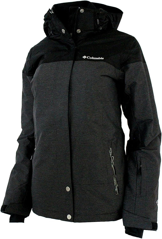 Columbia Womens Snowshoe Mauntain Insulated Jacket Black Shark (LARGE)