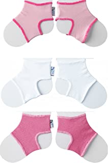 Clever Little Things That Keep Baby Socks On! 3 Pack Classic