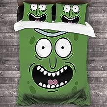NA Pic-kle Art Board Print Duvet Cover Bedding Set, 3 Piece Set Bedding Twin Full Bed(Duvet Cover + 2 Pillowcases)