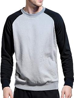 LBL Mens Sweatshirt Jumper Sweater Pullover Work Casual Sweatshirt Top