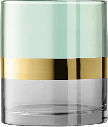 LSA International Bangle 花瓶 绿色 H18cm BN19