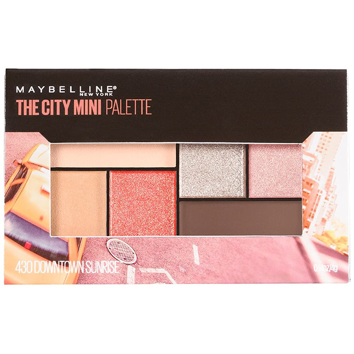 MAYBELLINE The City Mini Palette - Downtown Sunrise (並行輸入品)