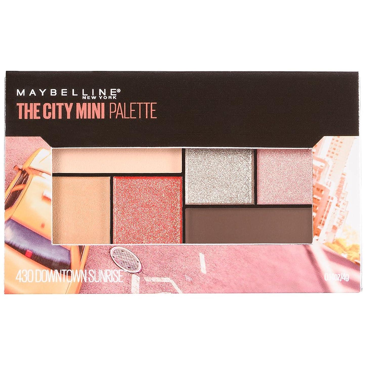 ポインタ好奇心盛ピーブMAYBELLINE The City Mini Palette - Downtown Sunrise (並行輸入品)