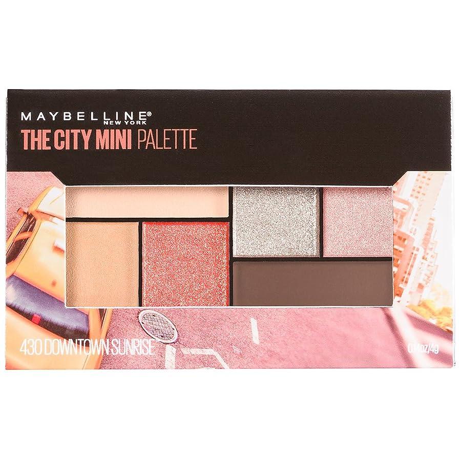 着る準備ができて覚えているMAYBELLINE The City Mini Palette - Downtown Sunrise (並行輸入品)