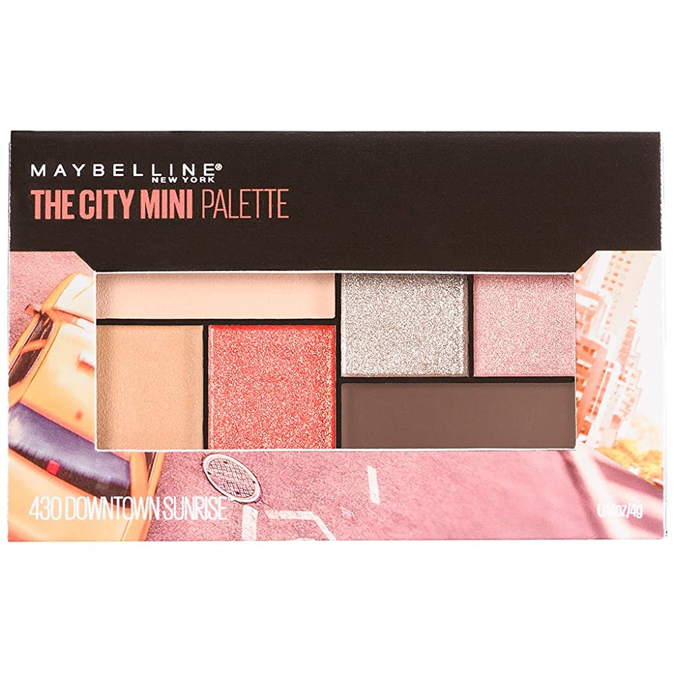 毎日あなたは戦士MAYBELLINE The City Mini Palette - Downtown Sunrise (並行輸入品)