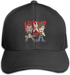 KAMEOR Personalized Unisex Cartoon The Walking Dead Baseball-Cap Cool Strapback Cap