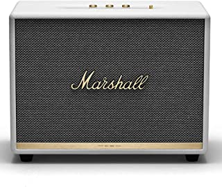 Marshall Woburn II Bluetooth Speaker, The Powerful Wireless Speaker, with Larger Than Life Customisable Sound, White