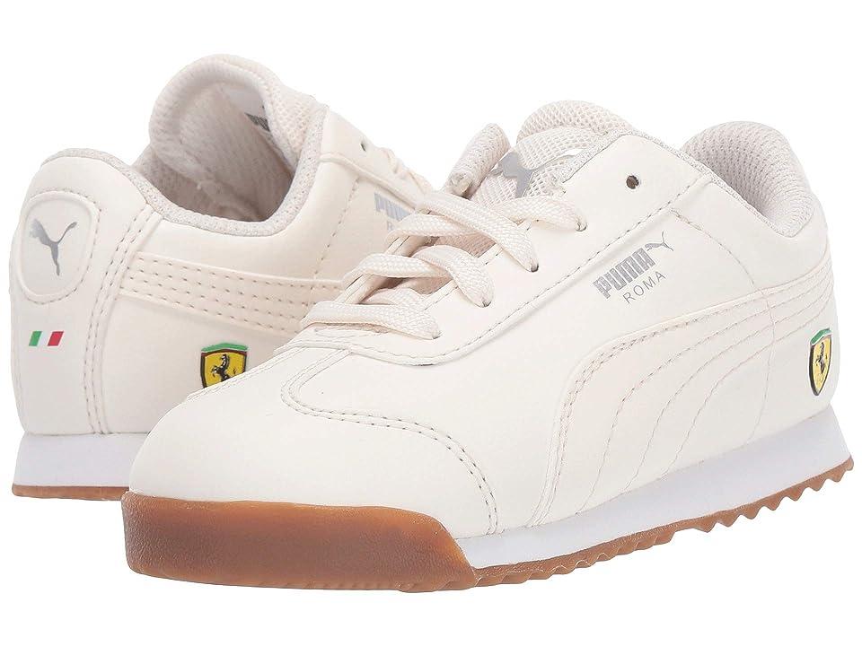 Puma Kids Ferrari Roma (Toddler) (Whisper White/Whisper White) Boys Shoes
