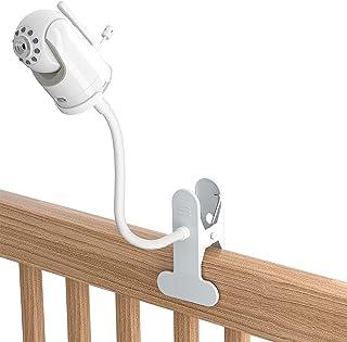 TIUIHU Baby Monitor Clip Mount for Infant Optics DXR-8 Baby Monitor/PRO/Infant Optics Add-On Camera- Twist Versatile Mount...