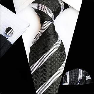 20 Style Big Flower Floral Ties For Men Fashion Men'S Tie Pocket Square Cufflinks Three Three Piece Suit