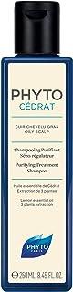 Phyto Phytocedrat Shampoo Purificante Seboregolatore Astringente, Ottimale per Capelli Grassi, Formato da 250 ml