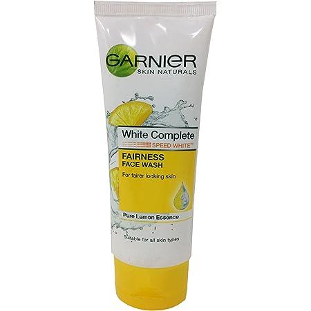 Garnier Fairness Face Wash - White Complete, 100g Tube