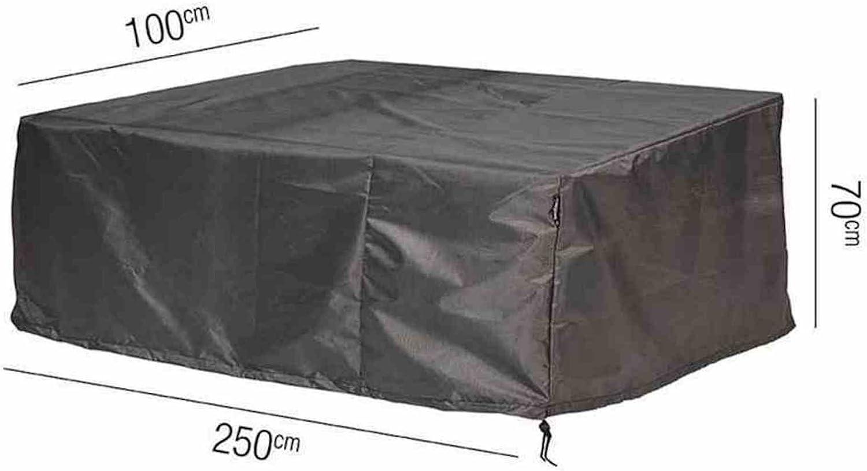 AeroCover Schutzhülle 250 x 100 x 70 cm Schutzhaube Mbelabdeckung 7963