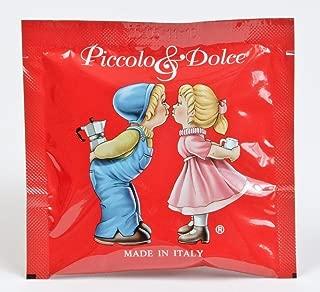 150 Lucaffe' Piccolo & Dolce ESE Espresso Paper Pods