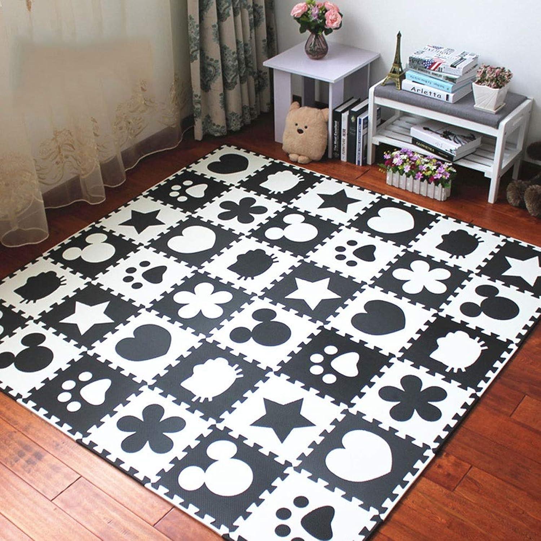 para mayoristas Blanket LUYIASI- LUYIASI- LUYIASI- Baby EVA Foam Jugar Puzzle Mat Alfombras y alfombras para el Ejercicio entrelazadas en blancoo y Negro para el Piso Pad para Niños (Talla   30.8x30.8x1cm110 Pieces)  buen precio