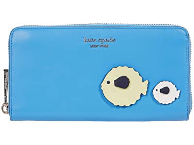 Kate Spade New York Puffy Zip Around Continental Wallet