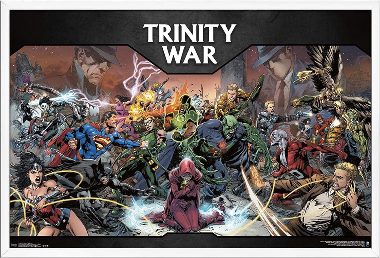 Trends International Tampa Mall DC Comics - The Trinity 22 Wall War Max 59% OFF Poster